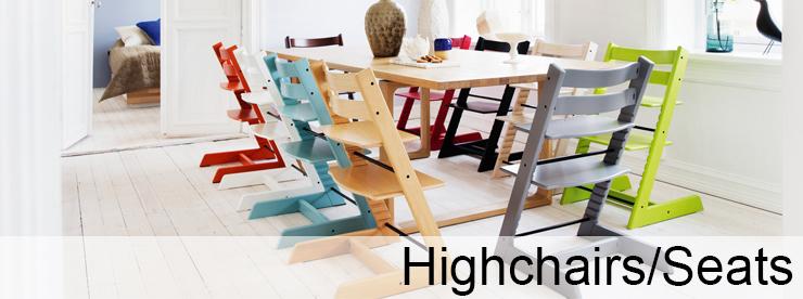 Highchairs/Seats