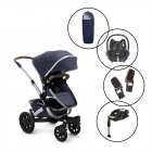 Joolz Geo2 Travel System with Maxi Cosi Cabriofix & Base & Free Matching Footmuff