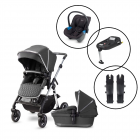 Silver Cross Pioneer 2020 Travel System with Silver Cross Simplicity Car Seat & Base