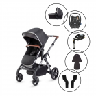 Silver Cross Wave 2020 Travel System with Maxi Cosi Cabriofix & Base