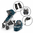 Uppababy Vista V2 Travel System with Maxi Cosi Cabriofix & Base
