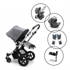 Bugaboo Cameleon3 plus Travel Sytem with Bugaboo Turtle Air Car Seat & Base