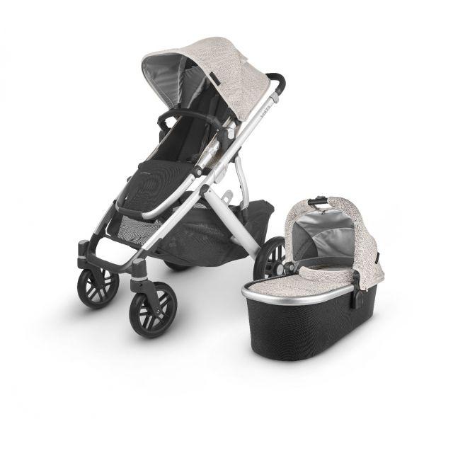 Uppababy Vista V2 Pushchair & Carrycot - Sierra