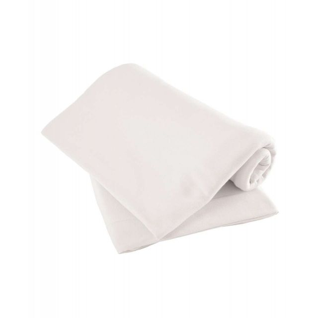 Mamas & Papas Pack of Two Fitted Sheets White - Pram