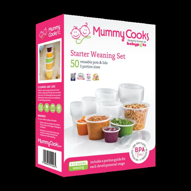 Mummy Cooks Starter Weaning Set