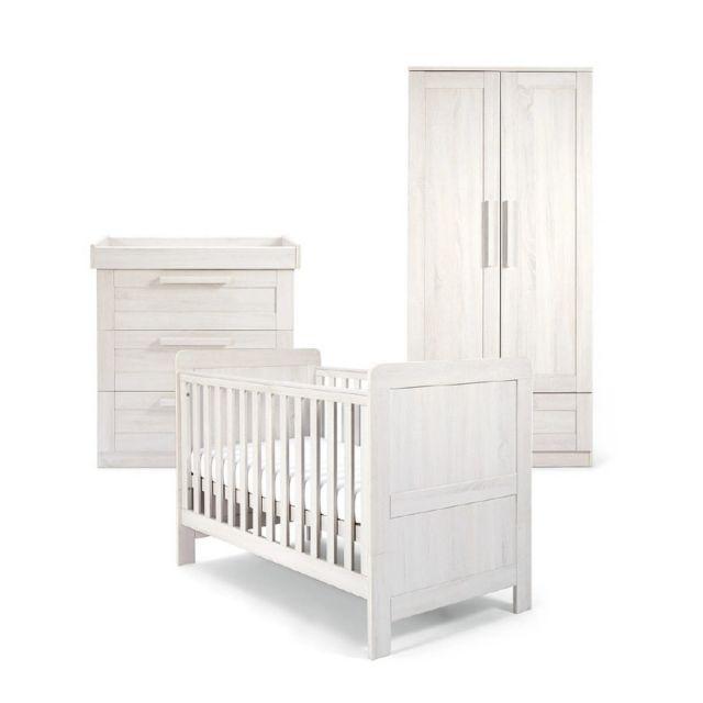 Mamas & Papas Atlas Range Nimbus White