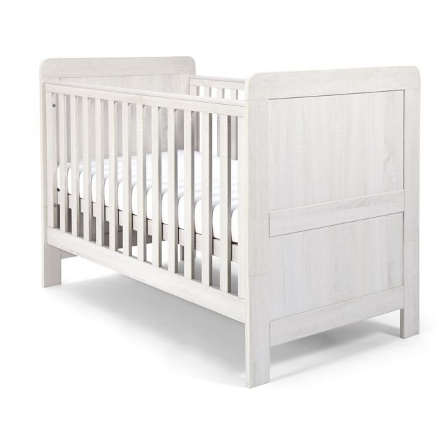 Mamas & Papas Atlas Cot Bed - Nimbus White