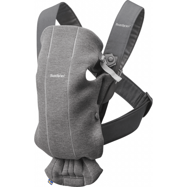 Babybjorn Carrier Mini 3d Jersey – Dark Grey
