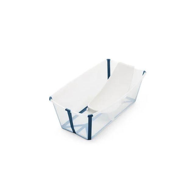 Stokke Flexi Bath Bundle - Transperant blue