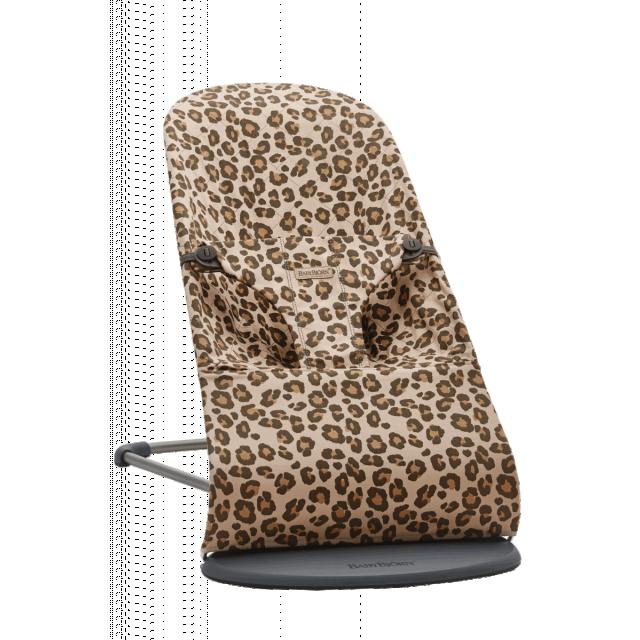 BabyBjorn Bouncer Bliss - Beige Leopard Cotton