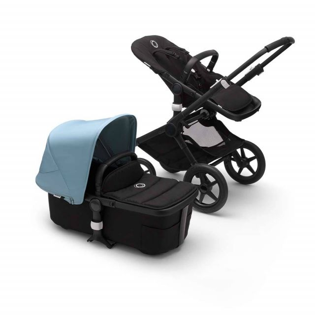 Bugaboo Fox2 Complete - Black/Vapour Blue