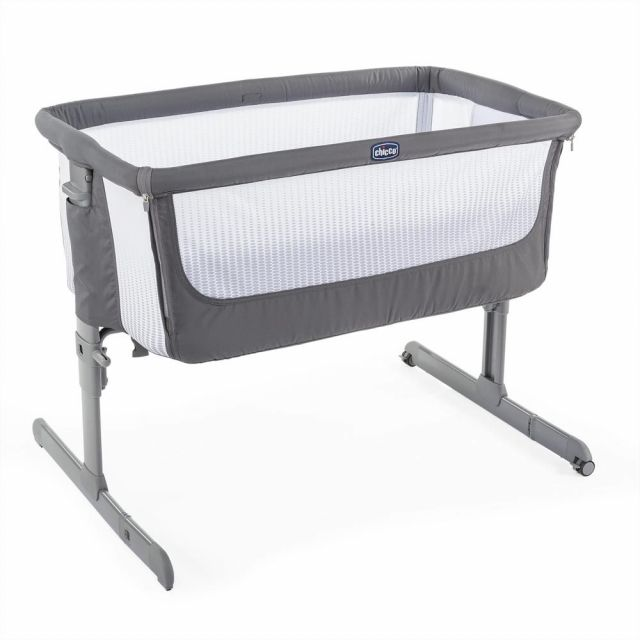 Chicco Next2me Air Crib  - Dark Grey