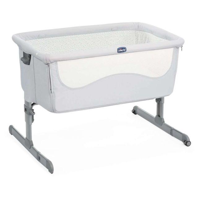 Chicco Next2Me Crib - Light Grey