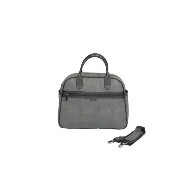 iCandy Peach Changing Bag Light Grey Check