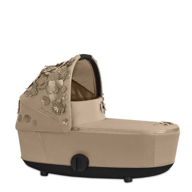 Cybex Mios Lux Carrycot - Simply Flowers Nude Beige