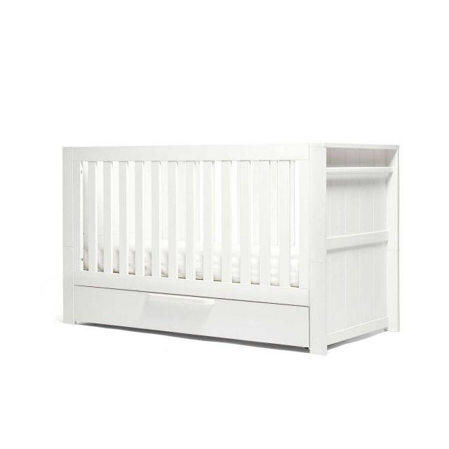 Mamas & Papas Franklin Cotbed - White Wash