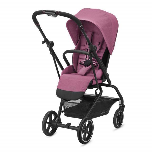 Cybex Eezy S Twist+2 Pushchair - Magnolia Pink