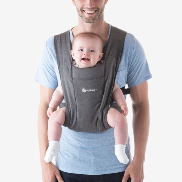 Ergobaby Embrace Newborn Carrier - Heather Grey