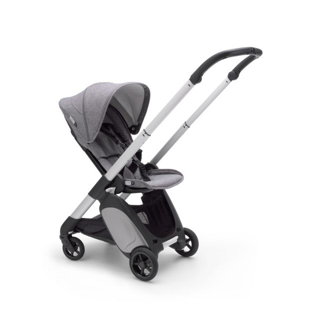 Bugaboo Ant Stroller - Aluminium + Grey Melange