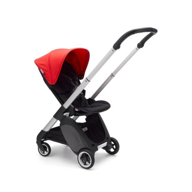 Bugaboo Ant Stroller - Aluminium + Neon Red