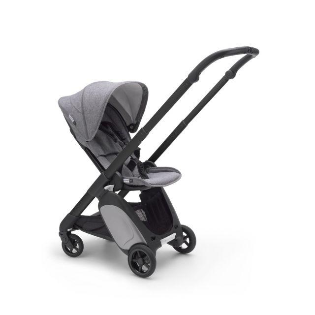 Bugaboo Ant Stroller - Black + Grey Melange