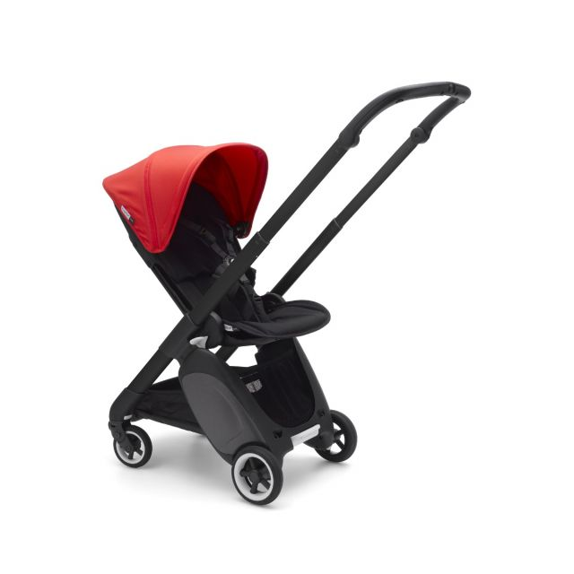 Bugaboo Ant Stroller - Black + Neon Red
