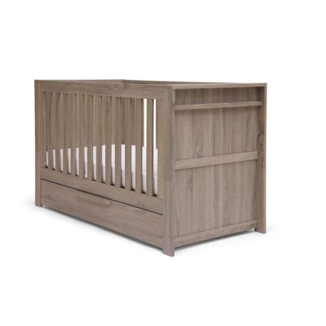 Mamas & Papas Franklin Grey Cotbed