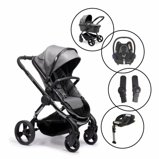 iCandy Peach Travel System with Maxi Cosi Cabriofix & Base