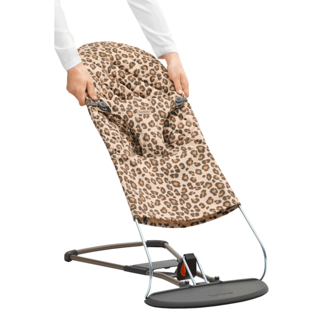 Babybjorn Bliss Fabric Seat Leopard Beige