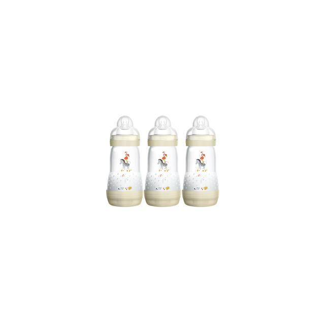 MAM Easy Start Anti-Colic Bottles - Unisex 260ml 3 Pack