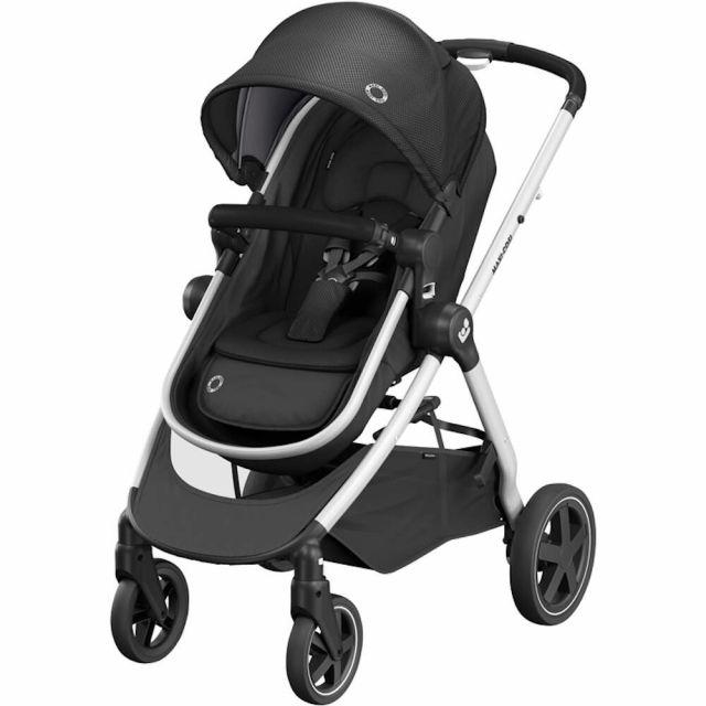 Maxi Cosi Zelia2 2-in-1 Pushchair - Essential Black