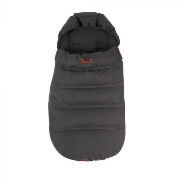 Silver Cross Wave Luxury Footmuff - Charcoal