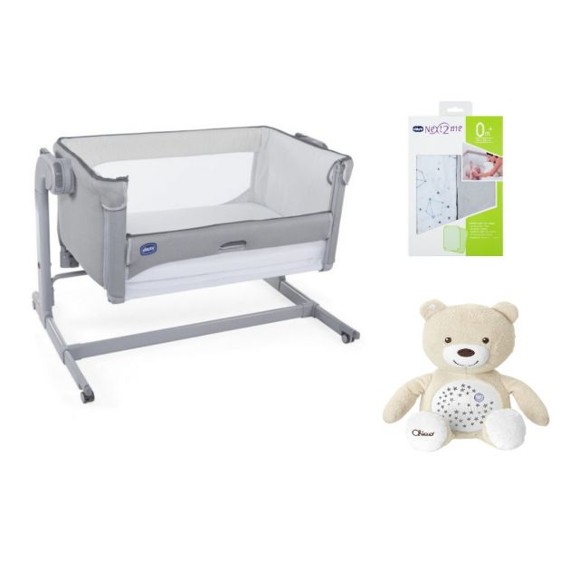 Chicco Next2Me Crib Magic 3-Piece Bundle
