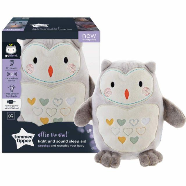 Ollie the Owl Light & Sound Rechargable Grofriend USB