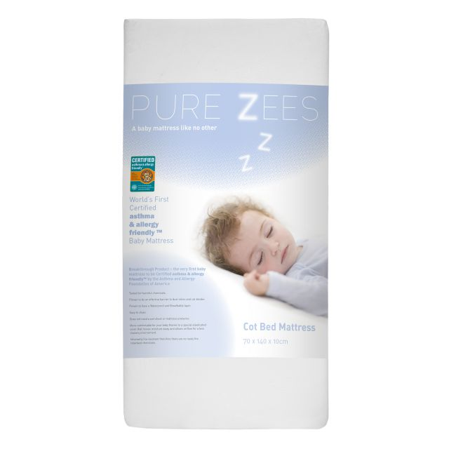 PureZees Cotbed Mattress 70x140