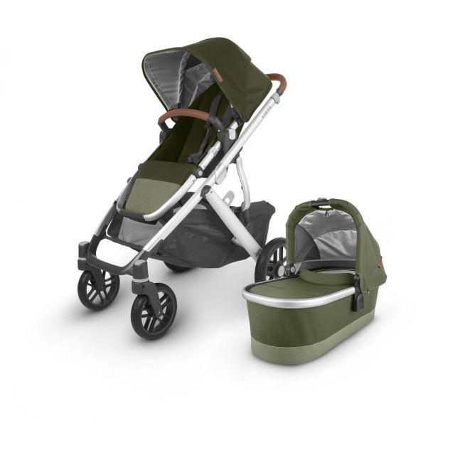 Uppababy Vista V2 Pushchair & Carrycot - Hazel