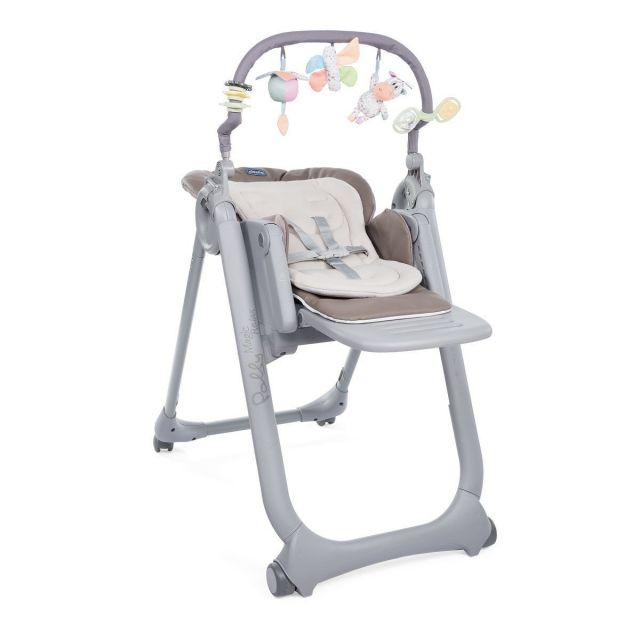 Chicco Polly Magic Relax Highchair – Graphite