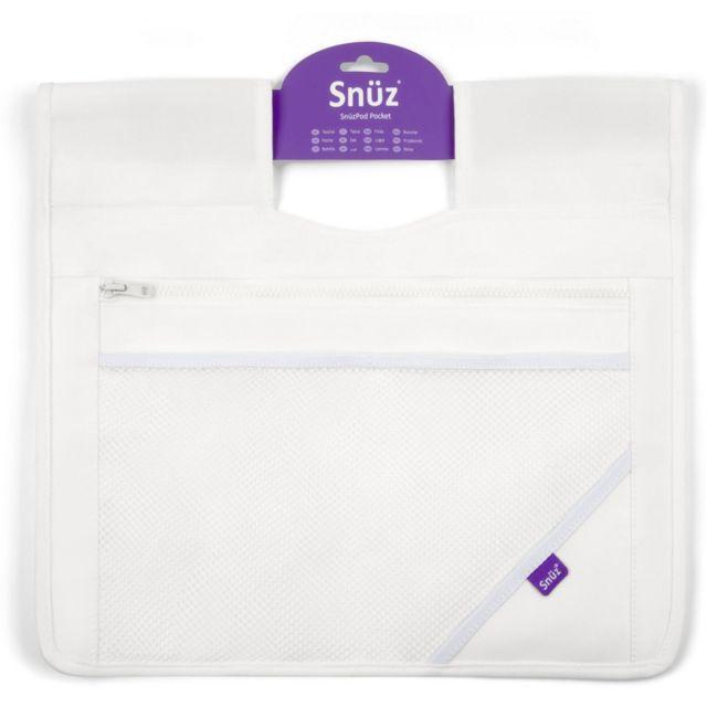 SnuzPod3 Storage Pocket White