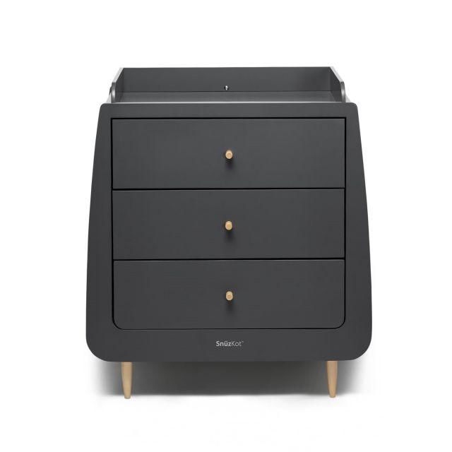SnuzKot Skandi Changing Dresser Unit Slate