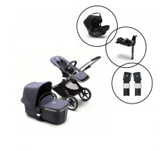 Bugaboo Fox3 Complete Travel System with Bugaboo Turtle Air Car Seat & Base