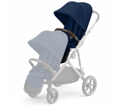 Cybex Gazelle Sibling Seat Navy Blue on Taupe Frame