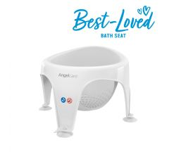 Angelcare Grey Soft Touch Baby Bath Seat