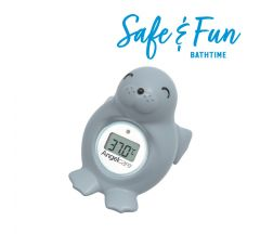 Angelcare Baby Bath & Room Thermometer - Seal