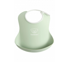 Babybjorn Soft Bib - Powder Green