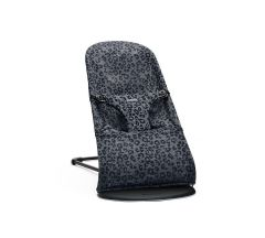 BabyBjörn Bouncer Bliss - Anthracite Leopard Mesh