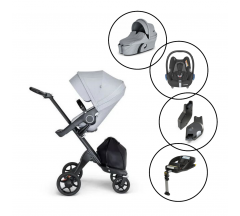 Stokke Xplory V6 Travel System with Maxi Cosi Cabriofix & Base
