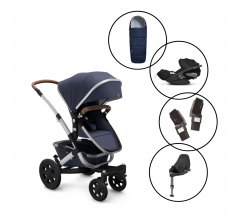 Joolz Geo2 Travel System with Cybex Cloud Z Car Seat & Base & Free Matching Footmuff