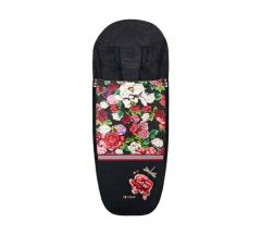Cybex Platinum Footmuff Spring Blossom Dark