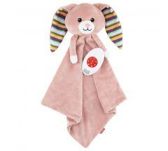 ZAZU Becky The Bunny Baby Comforter with Sound Module