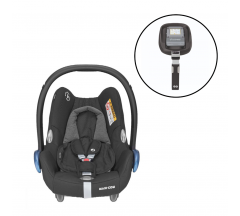 Maxi Cosi Cabriofix Car Seat & FamilyFix Base Bundle